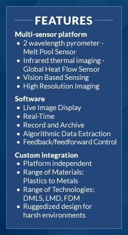 Systems Features temperature sensors