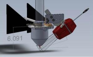 IRTV installation drawing integrated design sensor integration