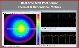 Real Time Melt Pool Sensor software ThermaViz